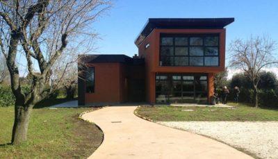 Progetto di un edificio in cca da adibire ad alloggio per disabili in località Colle dei Pini - Osteria Nuova-