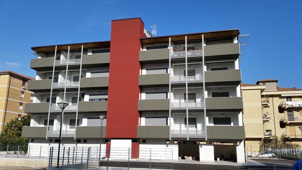 """PALAZZINA di  """"Edilizia Residenziale Agevolata Convenzionata"""""""