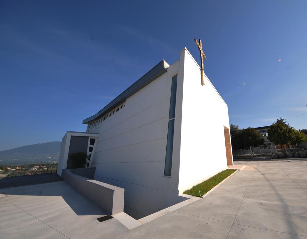 NUOVO COMPLESSO PARROCCHIALE, IN LOCALITÀ SAN FILIPPO, NELLA DIOCESI  DI ANAGNI – ALATRI